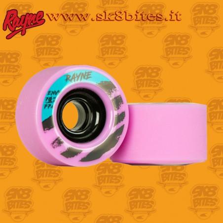 Rayne Envy V2 Pink 70mm 77a Longboard Freeride Slide Freestyle Wheel
