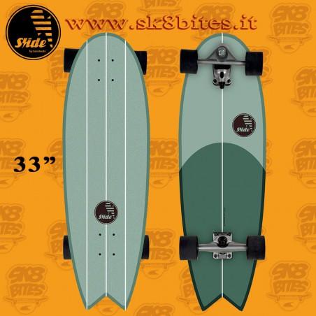 Slide Surfskate Swallow Saladita 33″ Tavola Completa Surfskate Carving Cruising