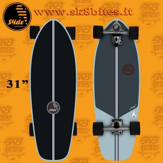 Slide Surfskate CMC Performance 31″ Tavola Completa Surfskate Carving Cruising