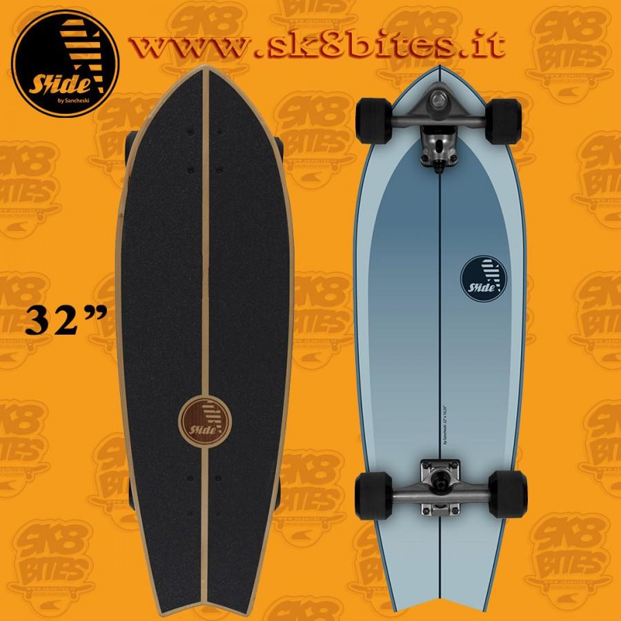 Slide Surfskate Fish Drifter 32″ Tavola Completa Surfskate Carving Cruising