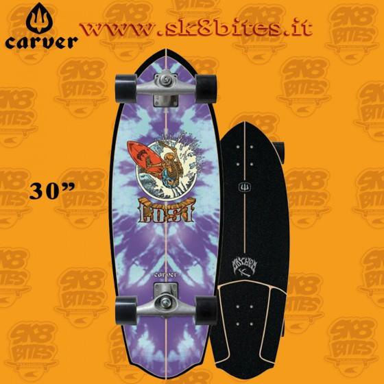 "Carver Lost X Rocket Redux CX 30"" Surfskate Carving Deck"