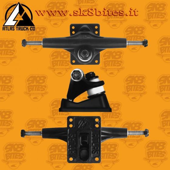 Atlas TKP Trucks Black 149mm Skateboard Street Cruising Trucks