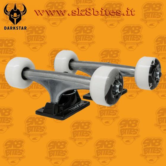 """Tensor Darkstar Dissent Combo Pack 5,25"""" Wheels Assembly Kit Set Up Skateboard Street Pool Trucks Wheels"""