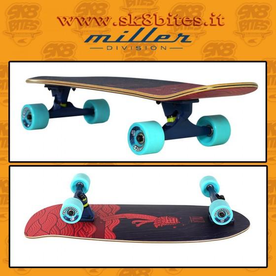 """Miller Hangten 29,5"""" Complete Surfskate Carving Deck"""
