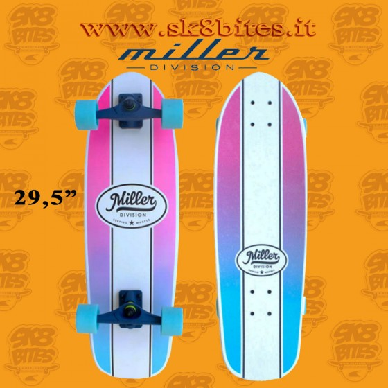 """Miller Classic Mini 29,5"""" Complete Surfskate Carving Deck"""
