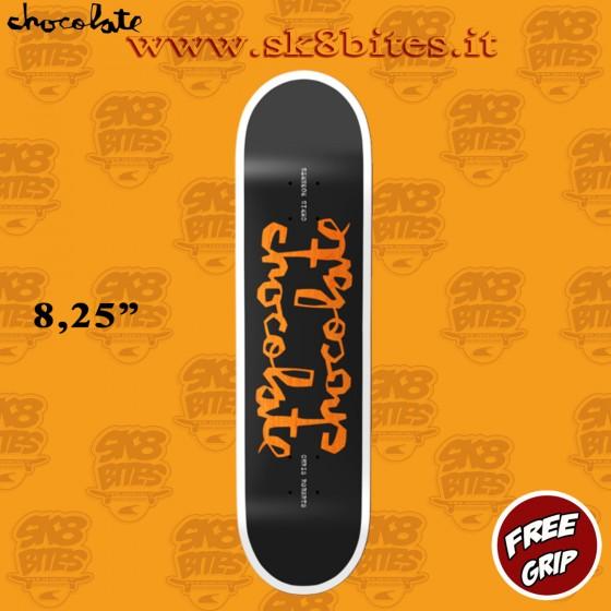 "Chocolate Roberts Twin Chunk Black 8,25"" Skateboard Street Pool Deck"
