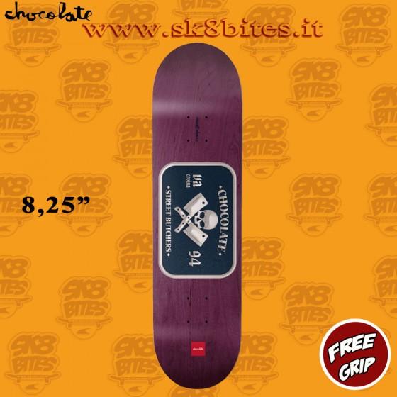 "Chocolate Alvarez Car Club 8,25"" Skateboard Street Pool Deck"