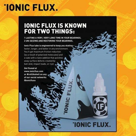 Ionic Flux Black Steel Bearing Lube Olio Cuscinetti