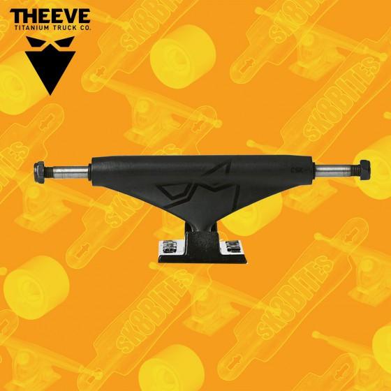 "Theeve CSX V3 Black Black 5,85"" Attacchi Skateboard Street"