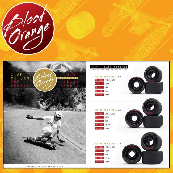 Blood Orange Liam Morgan Pro Series Black Thane 70mm