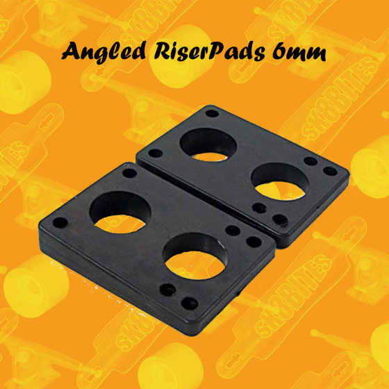 Angled Riserpads 6mm