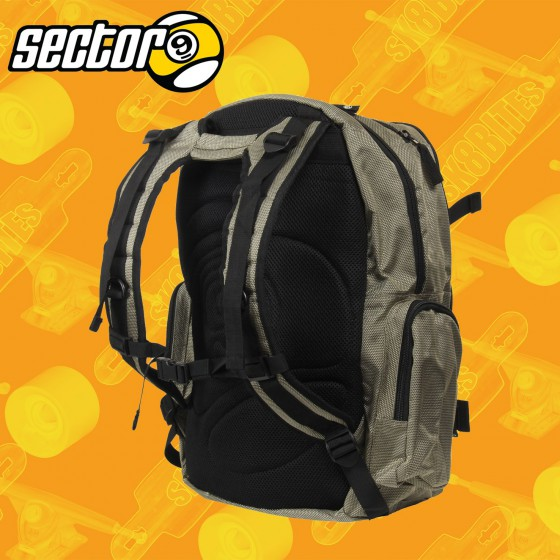 Sectro 9 The Field Backpack Longboard Skateboard Street Bag