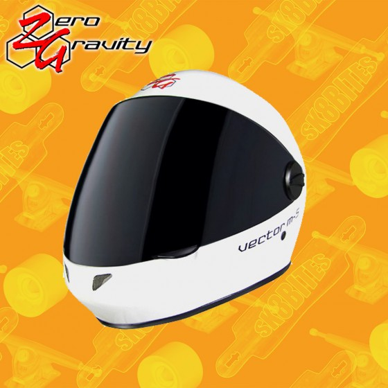 Zero Gravity Vector M-5 Casco Longboard Freeride Slide Full Face