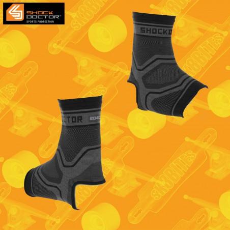 Shock Doctor Compression Knit Ankle Sleeve