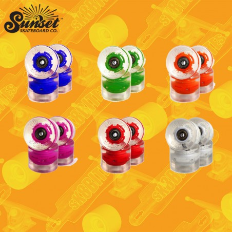 Sunset Wheels Led 59/65/69mm