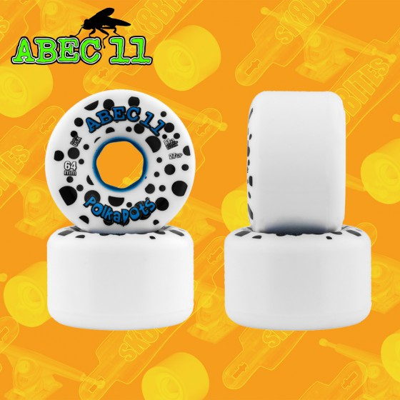 Abec 11 Polka Dots 64mm