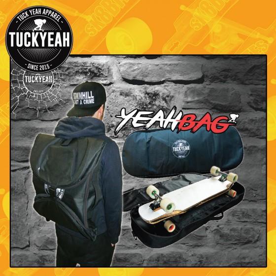 Tucks Yeah Yeah Bag Borsone Longboard Freeride Skateboard Street