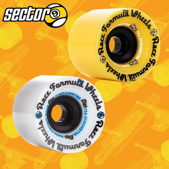 Sector 9 Race Formula 71mm 75a/78a Ruote Longboard Freeride Slide