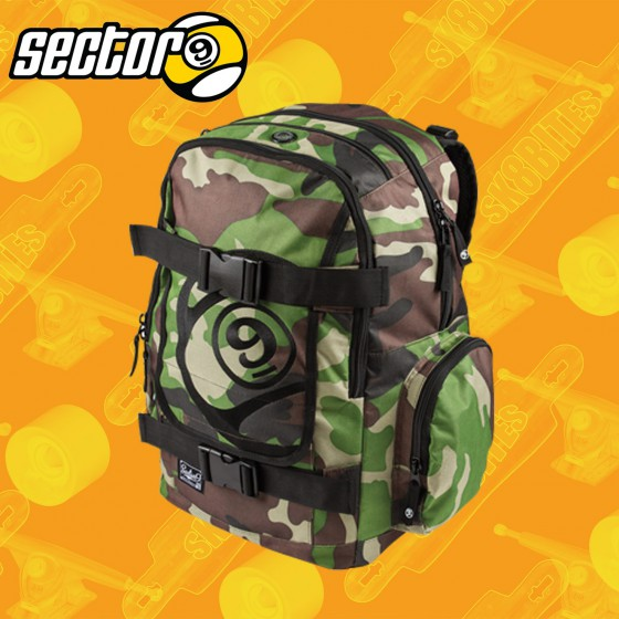 Sector 9 The Field Back Pack