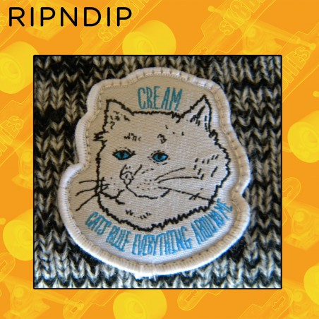 Ripndip Cream Beanie Grey