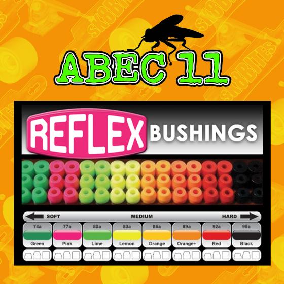 Abec 11 Reflex Bushings Gommini Longboard Carving Cruising