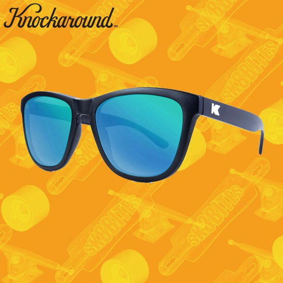 Knockaround Premium Black/Green Moonshine