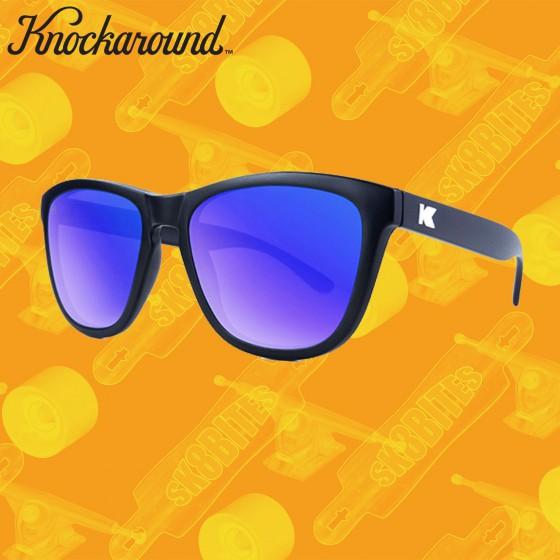 Knockaround Premium Black/Blue Moonshine