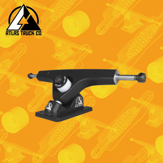 Atlas Trucks 180mm 48° Attacchi Longboard Freeride Carving Trucks