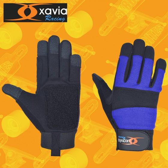 Xavia Slide Gloves Blue Guanti Longboard Slide