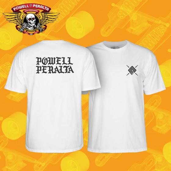 Powell Peralta PPP Burst White T-shirt