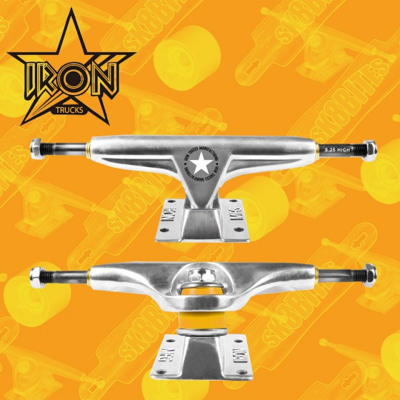 Iron Trucks Raw 5,25""