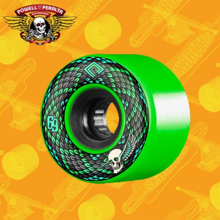 Powell Peralta Snakes 69mm Red Ruote