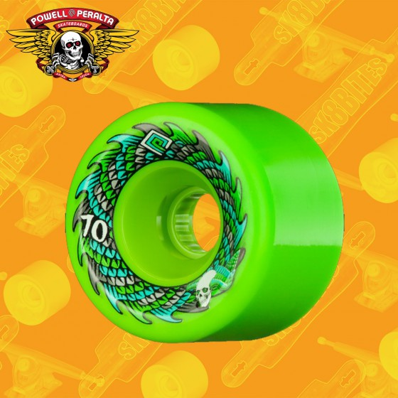 Powell Peralta Scales Soft Slide Offset 70mm Ruote Longboard Freeride