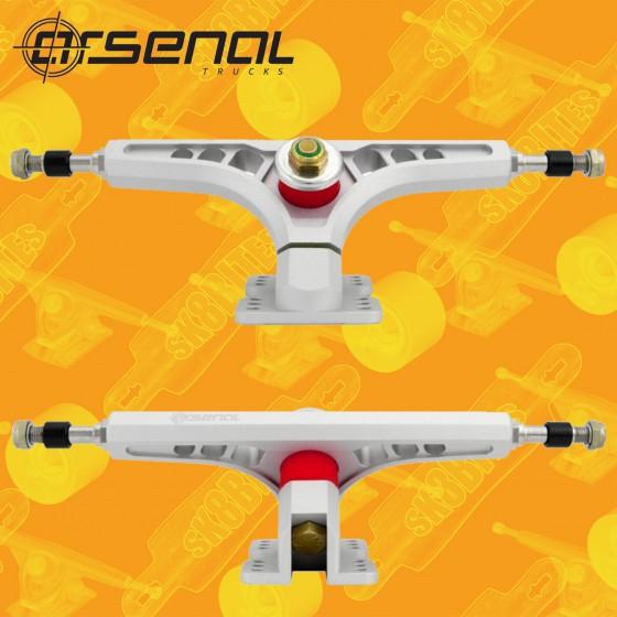 Arsenal Precision Attacchi Longboard Trucks