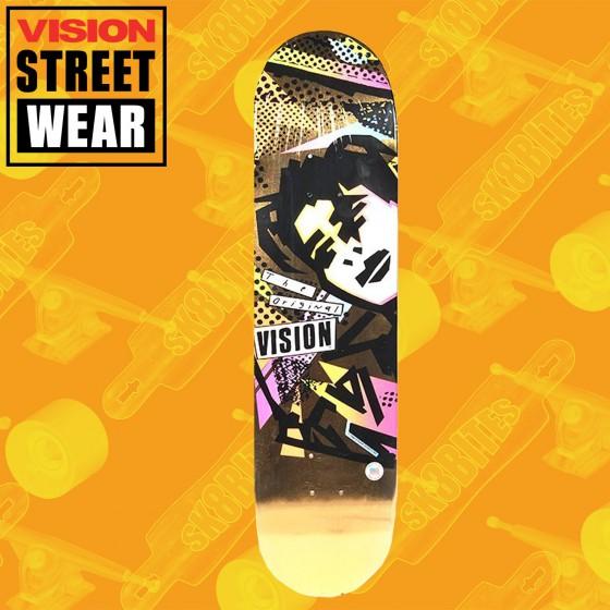 Vision MG Street Gold Tavola Skateboard Street Oldschool
