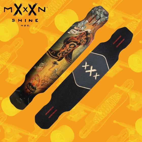 "Moonshine Hoedown Medium 48"" Complete Longboard Freestyle Dancing Deck"