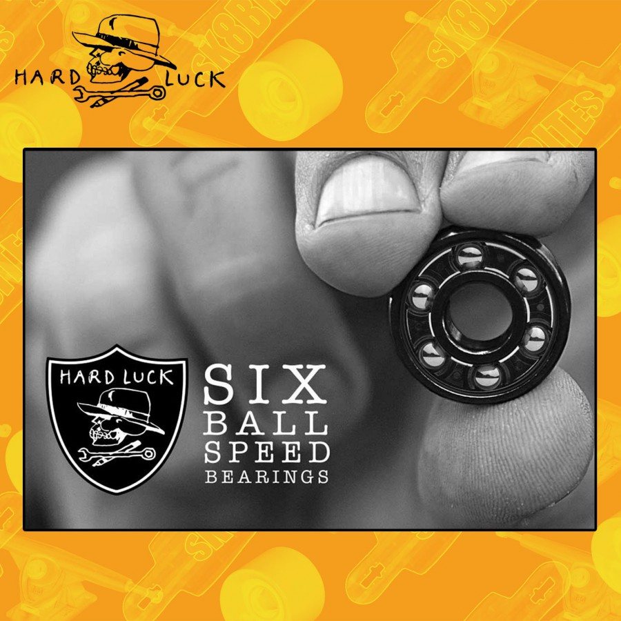Hardluck Hard Six Bearings Cuscinetti Skateboard Street