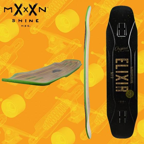 """Moonshine Elixir 41"""" Tavola Longboard Dancing Freestyle"""