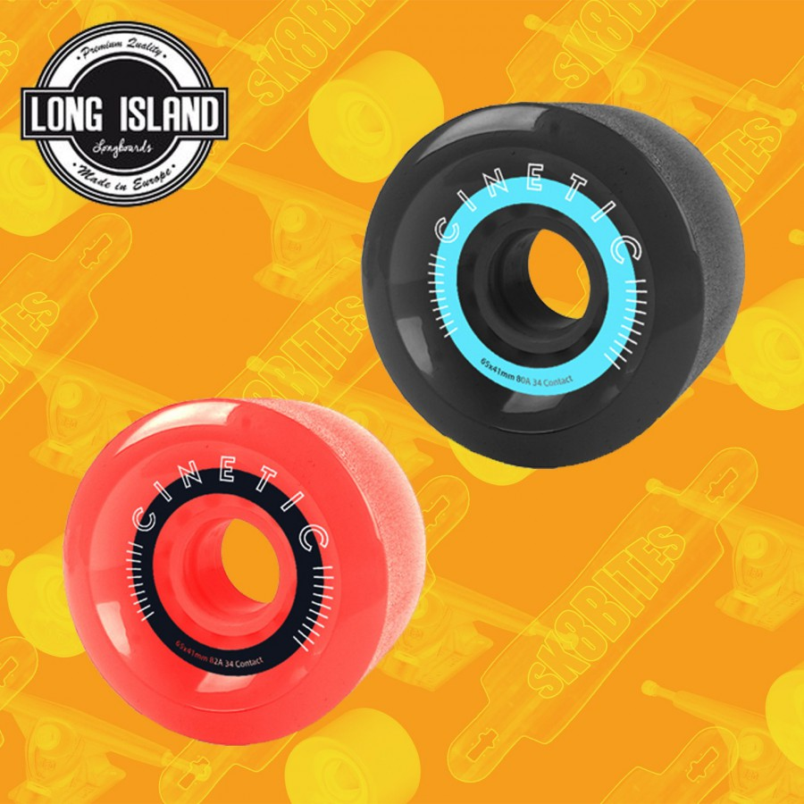 Cinetic Cygnus 65mm 80/82a Ruote Longboard Freeride Slide