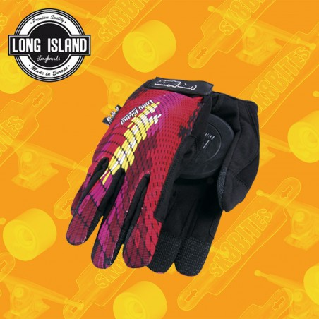 Long Island Matrix Slide Gloves Guanti Longboard Slide Freeride