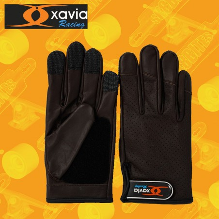 Xavia Breathable Gloves Dark Brown Guanti Longboard