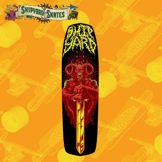 "Shipyard Death 8,8"" Tavola Skateboard Oldschool"