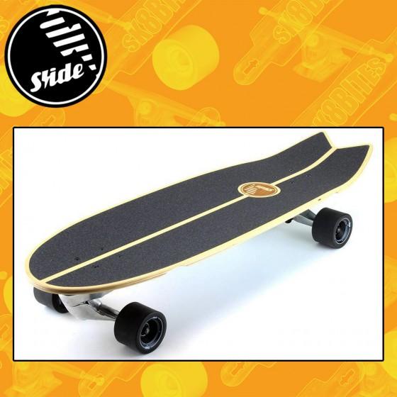 "Slide Surfskate Swallow 33"" Longboard Surfskate Complete"