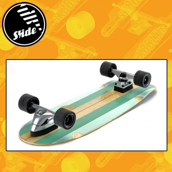 """Slide Surfskate Gussie 31"""" Longboard Surfskate Complete"""
