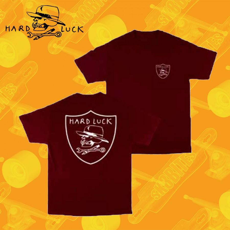 Hardluck Ball Peen Black Maglietta Skateboard Street Unisex
