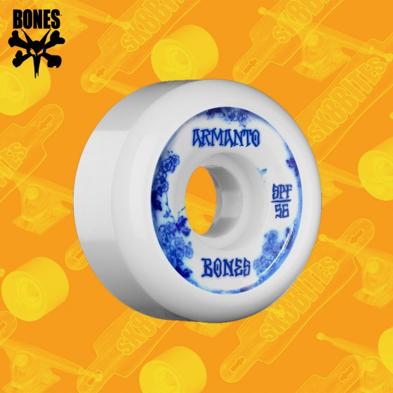 Bones SPF Pro Armanto Blue China P5 58mm Ruote Skateboard Street