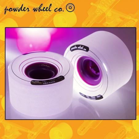 Powder Wheels Purps 70mm 78a Ruote Longboard Slide Freeride