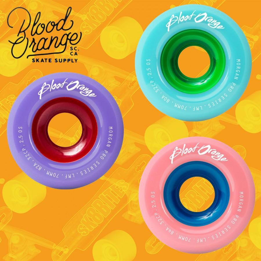 Blood Orange Morgan Pro Series 80/82/84a Ruote Longboard Slide Freeride