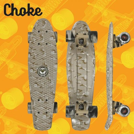"Choke Big Jim 28""  Cruiser Carving  Deck Complete"
