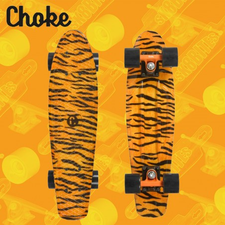 "Choke Juicy Susi Tiger 22,5"" Tavola Completa Cruiser Carving"